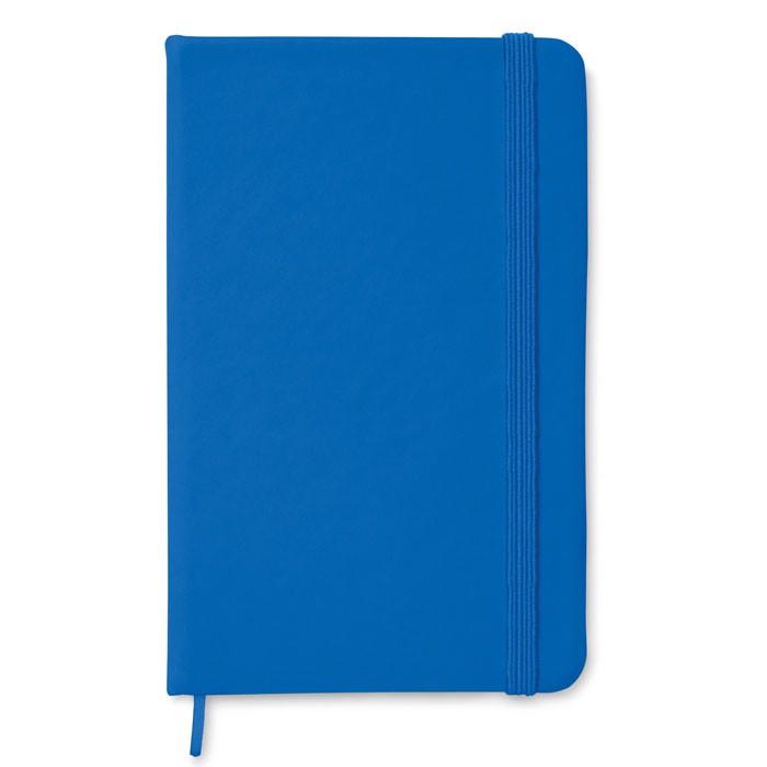 DIN A6 Notizbuch Notelux - königsblau