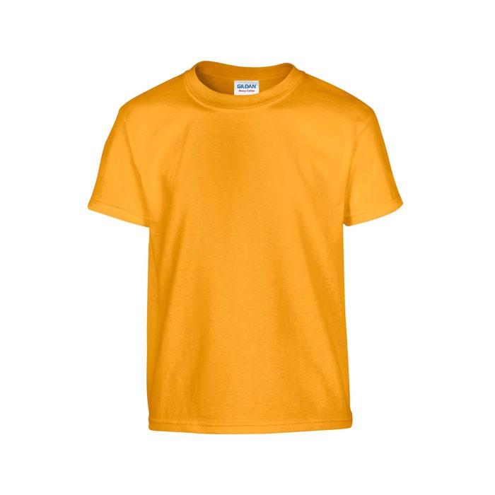Youth t-shirt 185 g/m² Heavy Youth T-Shirt 5000B - Gold / M