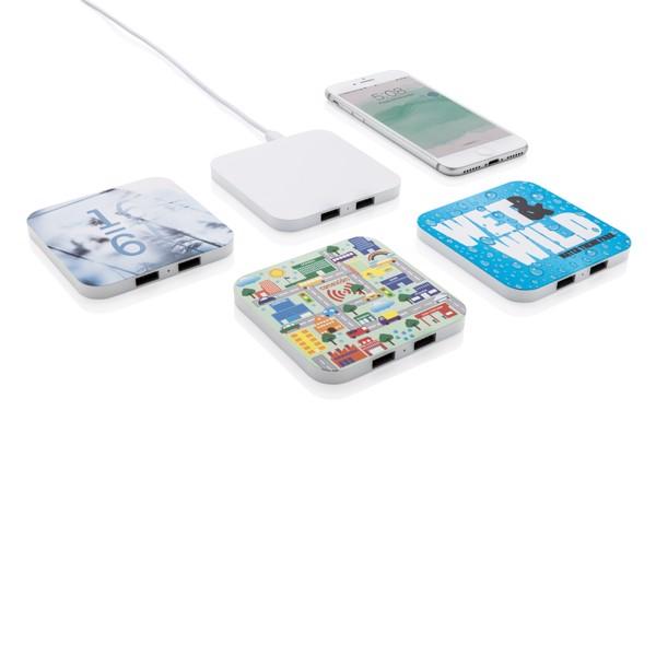 Bezdrátová nabíječka 10W s USB výstupy