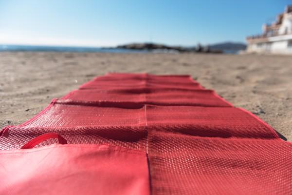 Pătură Plajă Kassia - Portocaliu
