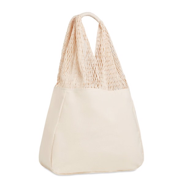 Beach bag cotton/mesh Barbuda