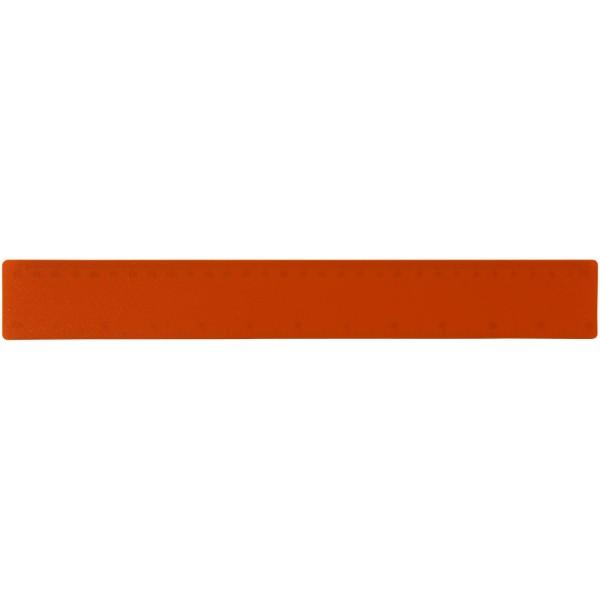 Rothko 30 cm plastic ruler - Orange