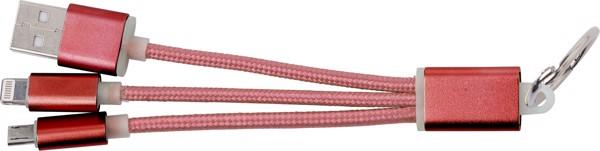 Aluminium alloy cable set - Red