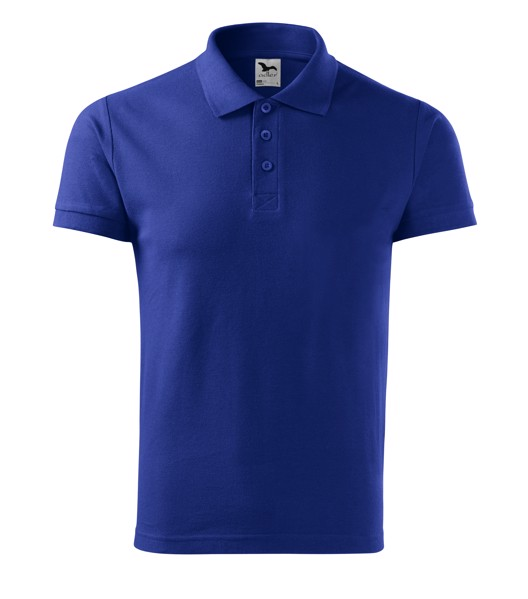 Polo Shirt Gents Malfini Cotton - Royal Blue / 2XL