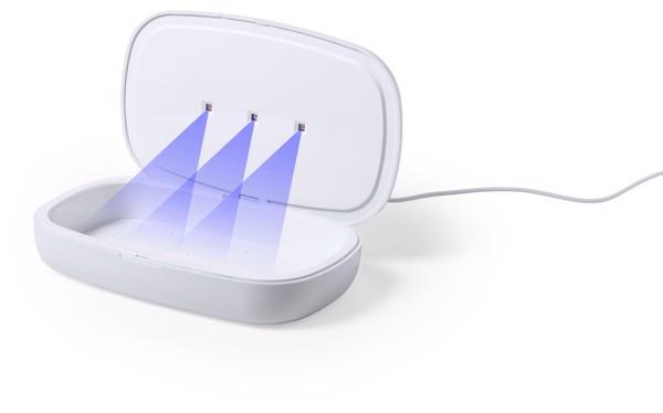 Caja Esterilizadora UV Cargador Halby