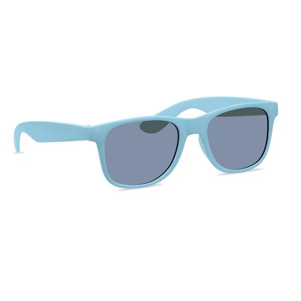 Sunglasses bamboo fibre/PP Bora - Heaven Blue