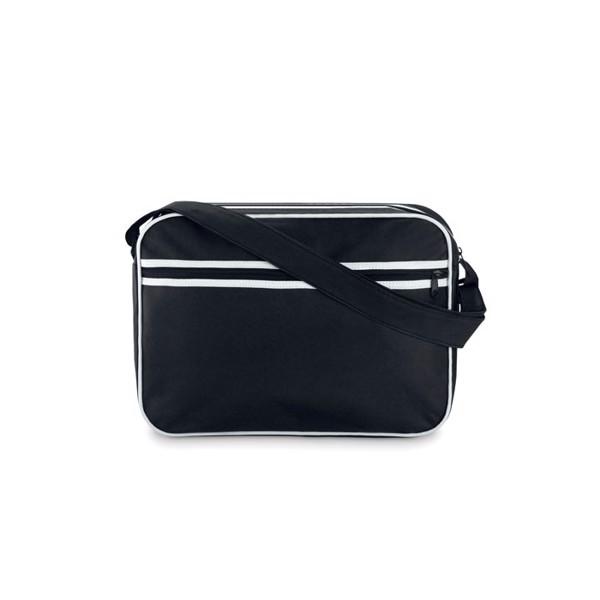 Document bag in 600D polyester Barcelona - Black