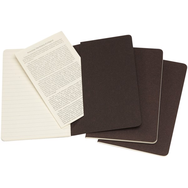 Cahier Journal PK - ruled - Coffee Brown