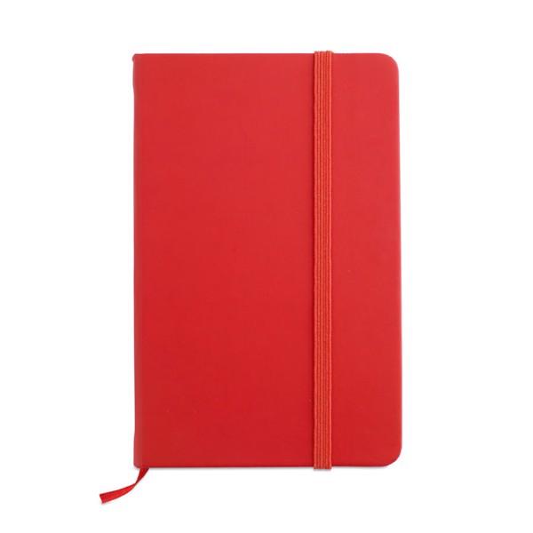 DIN A6 Notizbuch Notelux - rot