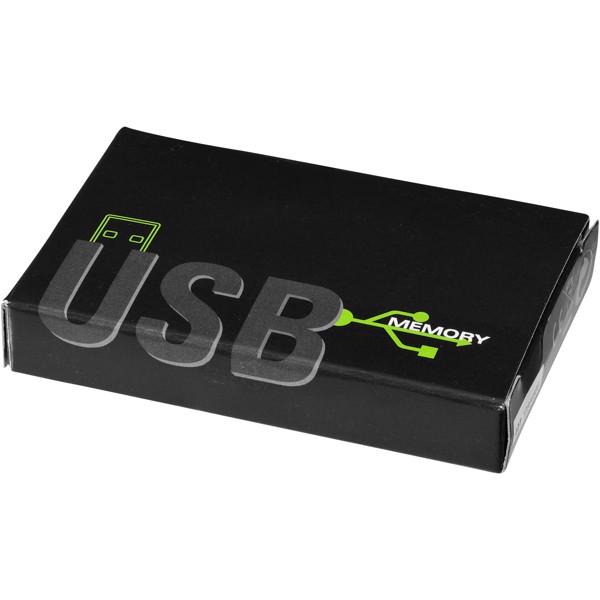 Slim card-shaped 2GB USB flash drive