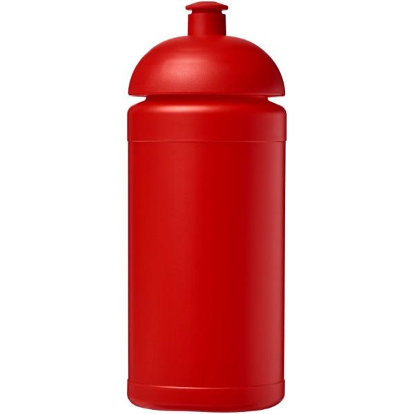 Sportovní láhev s kupolovitým víčkem Baseline® Plus 500 ml - Červená s efektem námrazy