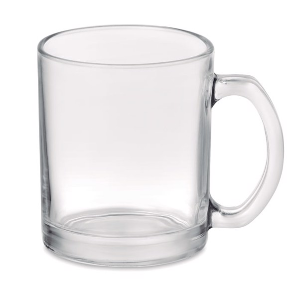 Glass sublimation mug 300ml Sublimgloss