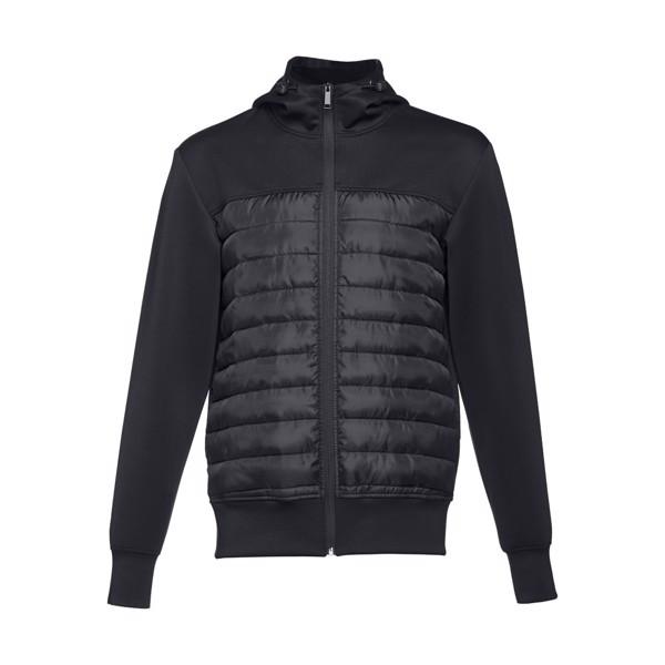 THC SKOPJE. Men's hooded jacket - Black / XXL