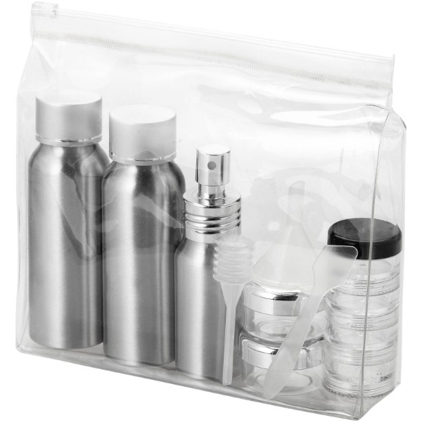 Frankfurt airline approved travel bottle set