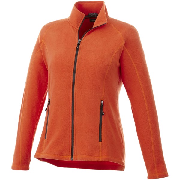 Rixford ladies Polyfleece full Zip - Orange / L