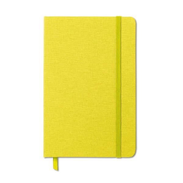 DIN A5 Notizbuch Fabric Note - limette