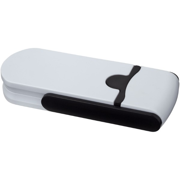 Bram Multifunktions-Schraubendreher mit 1 M Maßband - Weiss