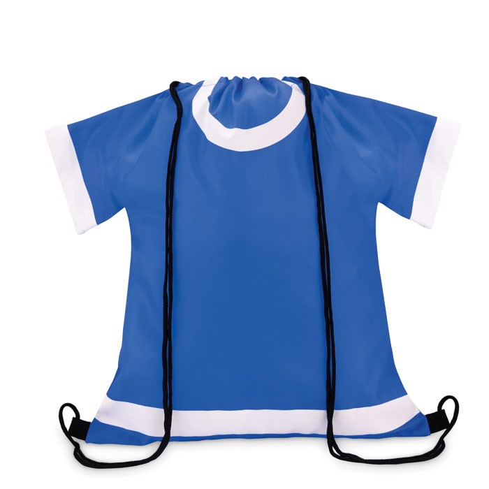 210D polyester drawstring bag T-Draw - Royal Blue