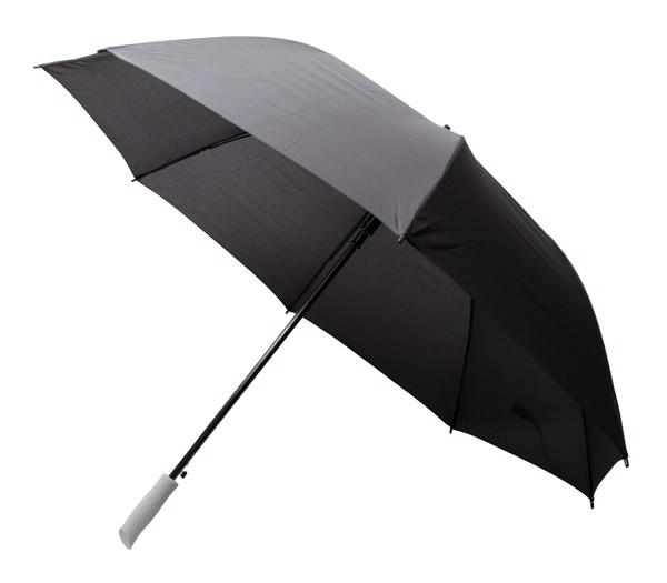 Umbrelă Xl Magnific - Argintiu / Negru