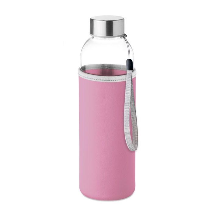 Glass bottle Utah Glass - Pink
