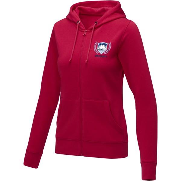 Theron women's full zip hoodie - Red / L