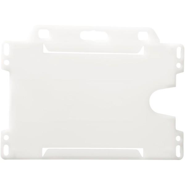Vega Kartenhalter aus Kunststoff - Transparent Klar