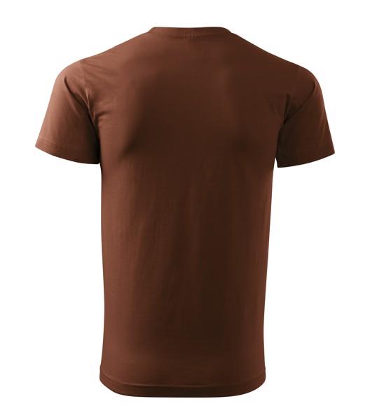 Tričko unisex Malfini Heavy New - Čokoládová / XL