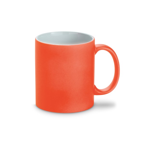 LYNCH. Ceramic mug 350 ml - Orange
