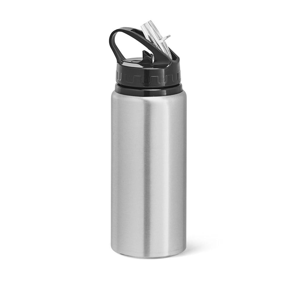 LEMON. Sports bottle 670 ml - Satin Silver