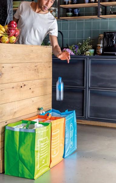 Komplet treh vrečk za recikliranje