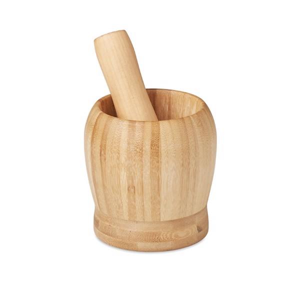 Set mojar și pistil de bambus Pesto