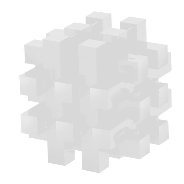 """Pussycat 3D-Geduldspiel """"Polygon"""" - Weiß"""