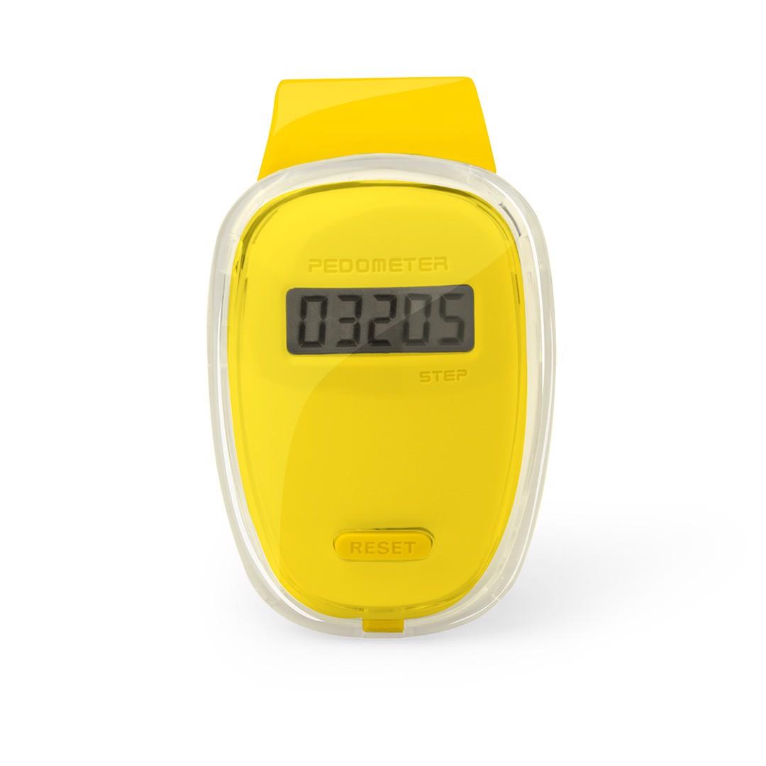 Podómetro Ferrium - Amarillo