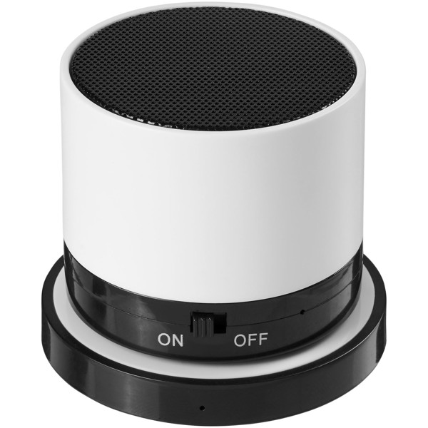 Cosmic Bluetooth® reproduktor s bezdrátovou nabíjecí podložkou - Bílá