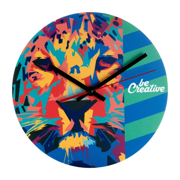 Wall Clock BeTime D - White / Black