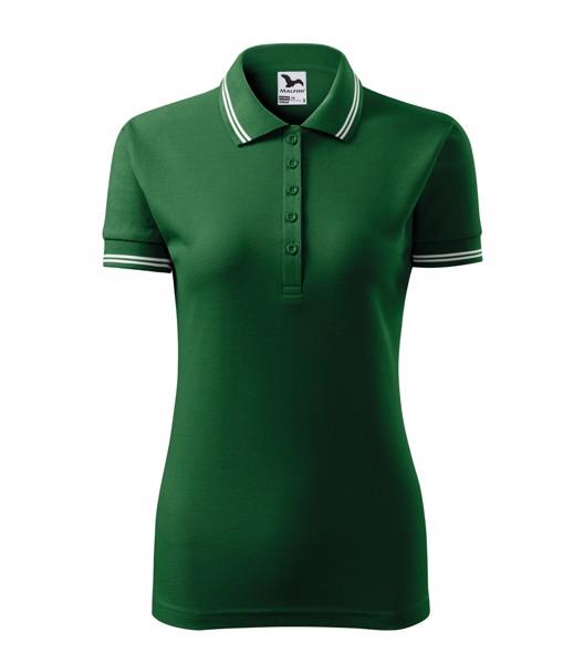 Polokošile dámská Malfini Urban - Lahvově Zelená / XL