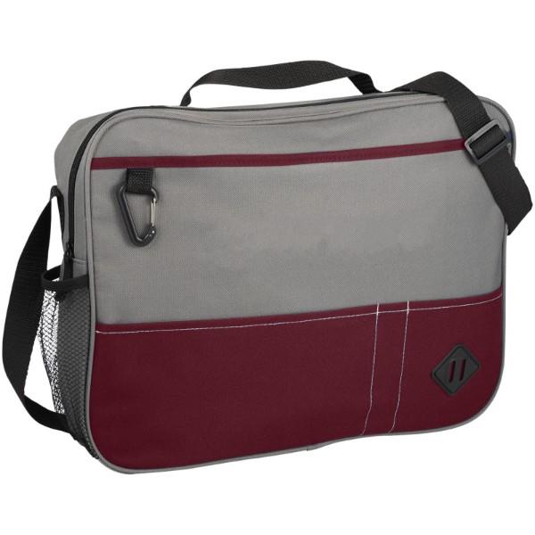 Hayden conference briefcase - Grey / Red