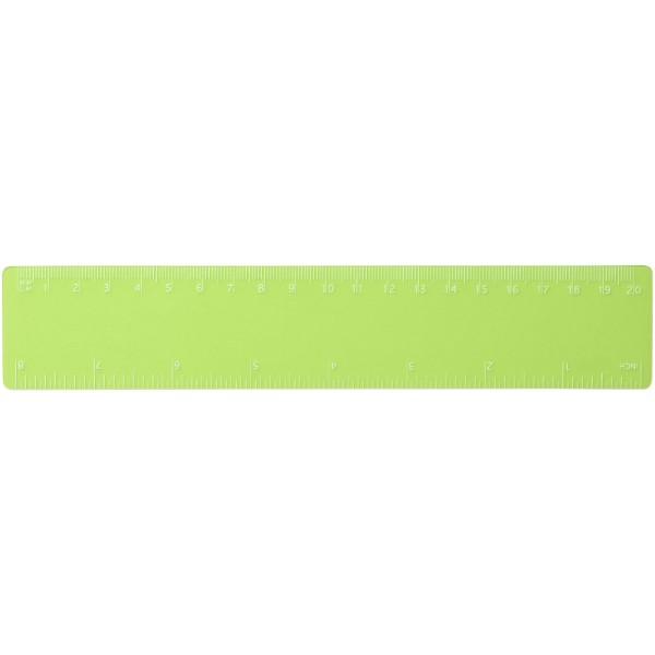Pravítko Rothko 20 cm PP - Zelená S Efektem Námrazy