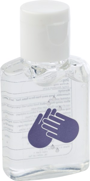 PET hand cleansing gel with print