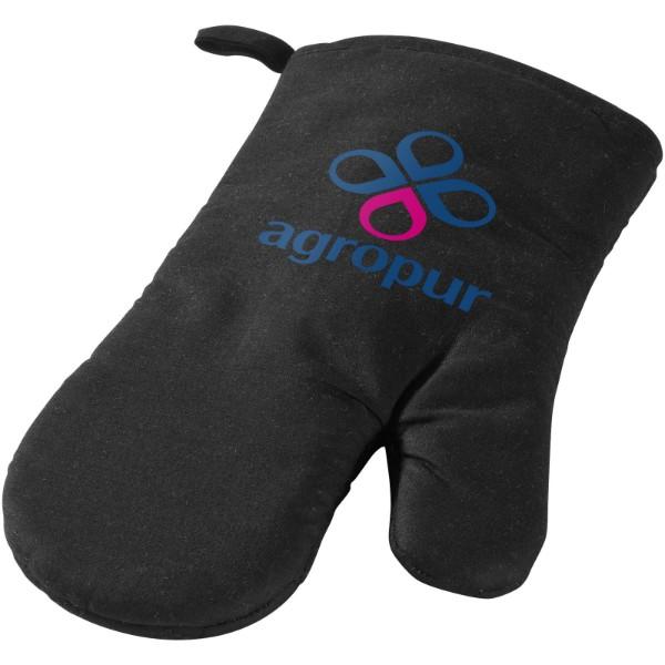 Zander oven mitt - Solid black