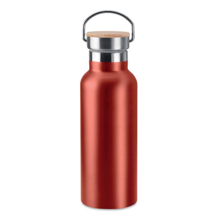 Double wall flask 500 ml Helsinki - Red