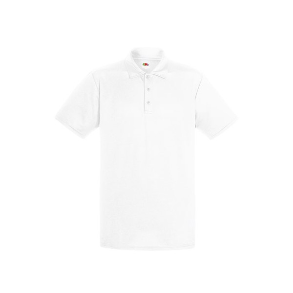 Men's Polo Shirt Sports Performance Polo 63-038-0 - White / 3XL
