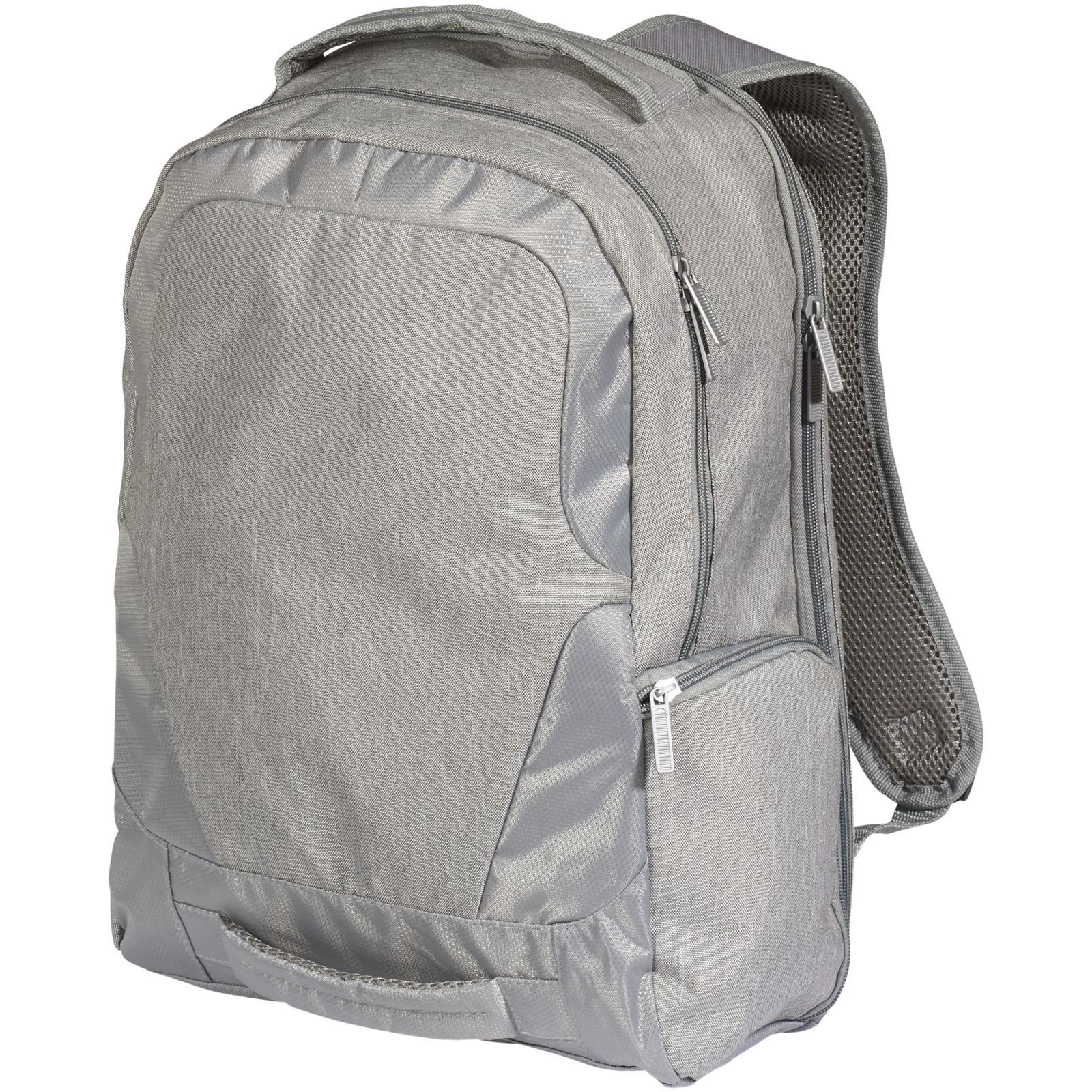 """Overland 17"""" TSA laptop backpack - Heather grey"""