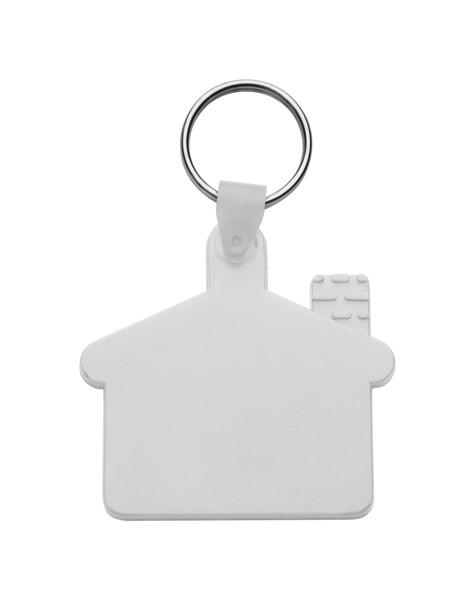 Přívěšek Na Klíče Cottage - Bílá
