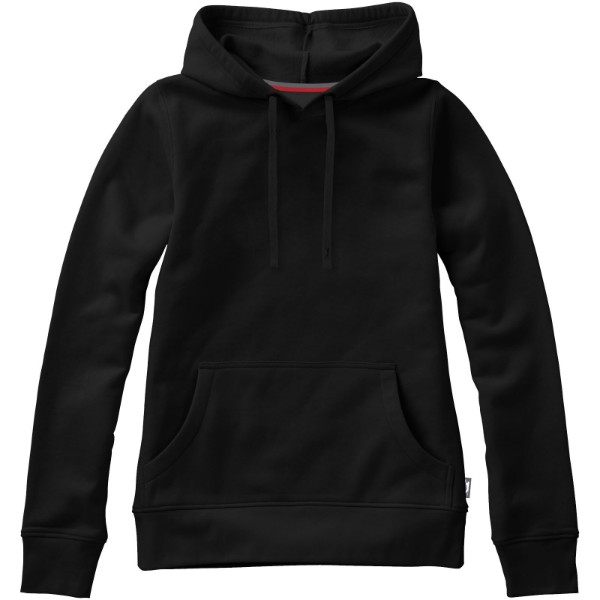 Alley hooded sweater - Solid Black / 3XL