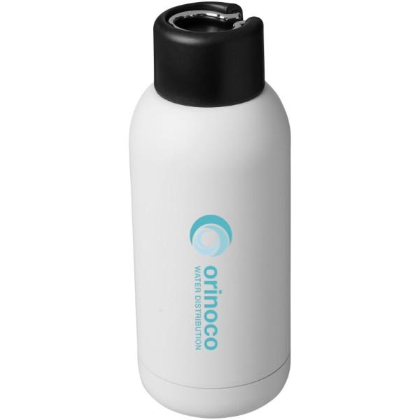 Brea 375 ml vakuumisolierte Sportflasche - Weiss