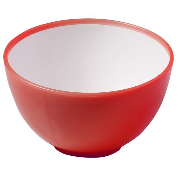 """Müslischale """"2 Colour"""" - Rot/Weiß"""