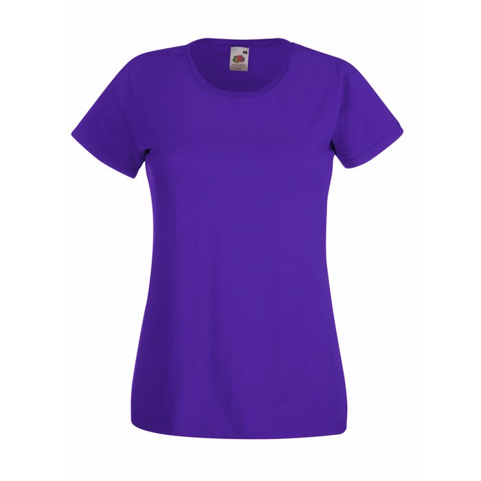 Lady-fit t-shirt 165 g/m² Lady-Fit Value Weight 61-372-0 - Purple / L