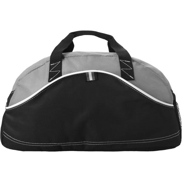 Boomerang duffel bag - Solid black / Grey