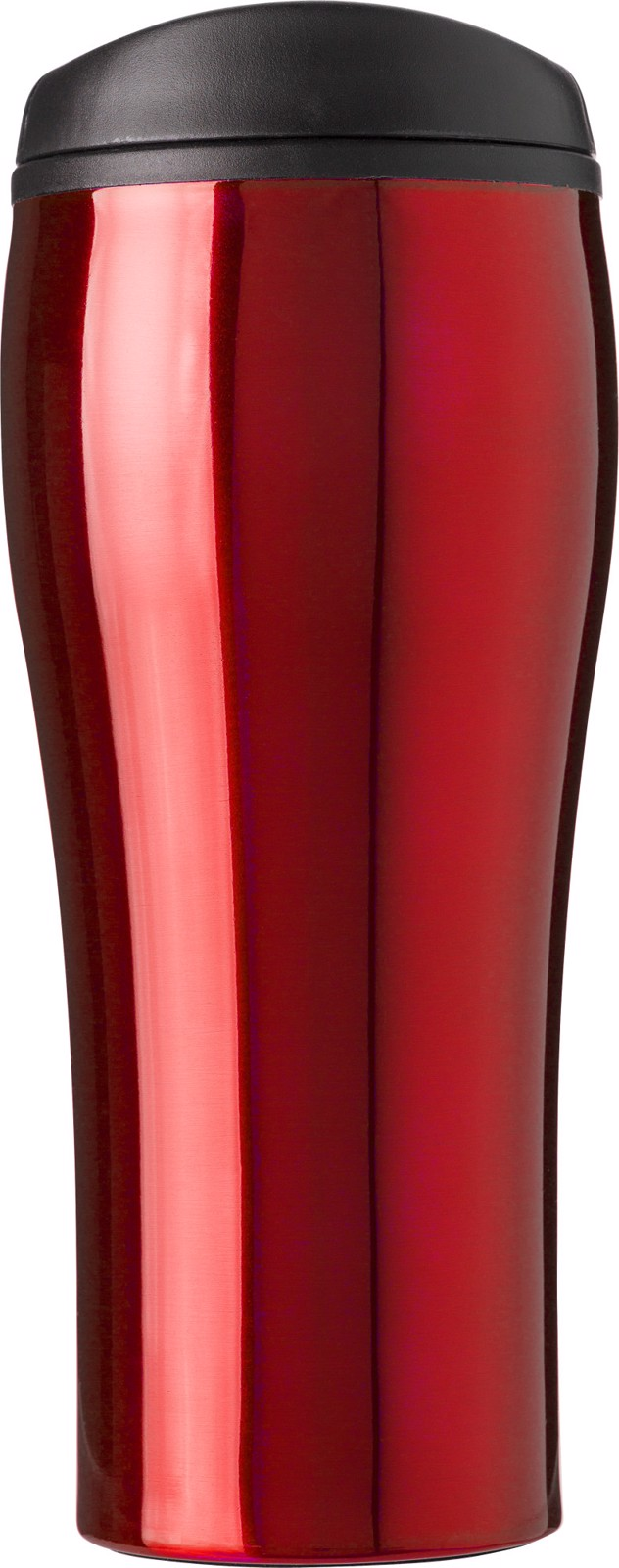 PP and stainless steel mug - Red